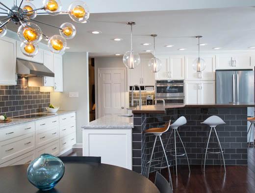 Elkins Park Pennsylvania Remodeler Ferrarini Kitchen Bath Chrysalis Award Winner